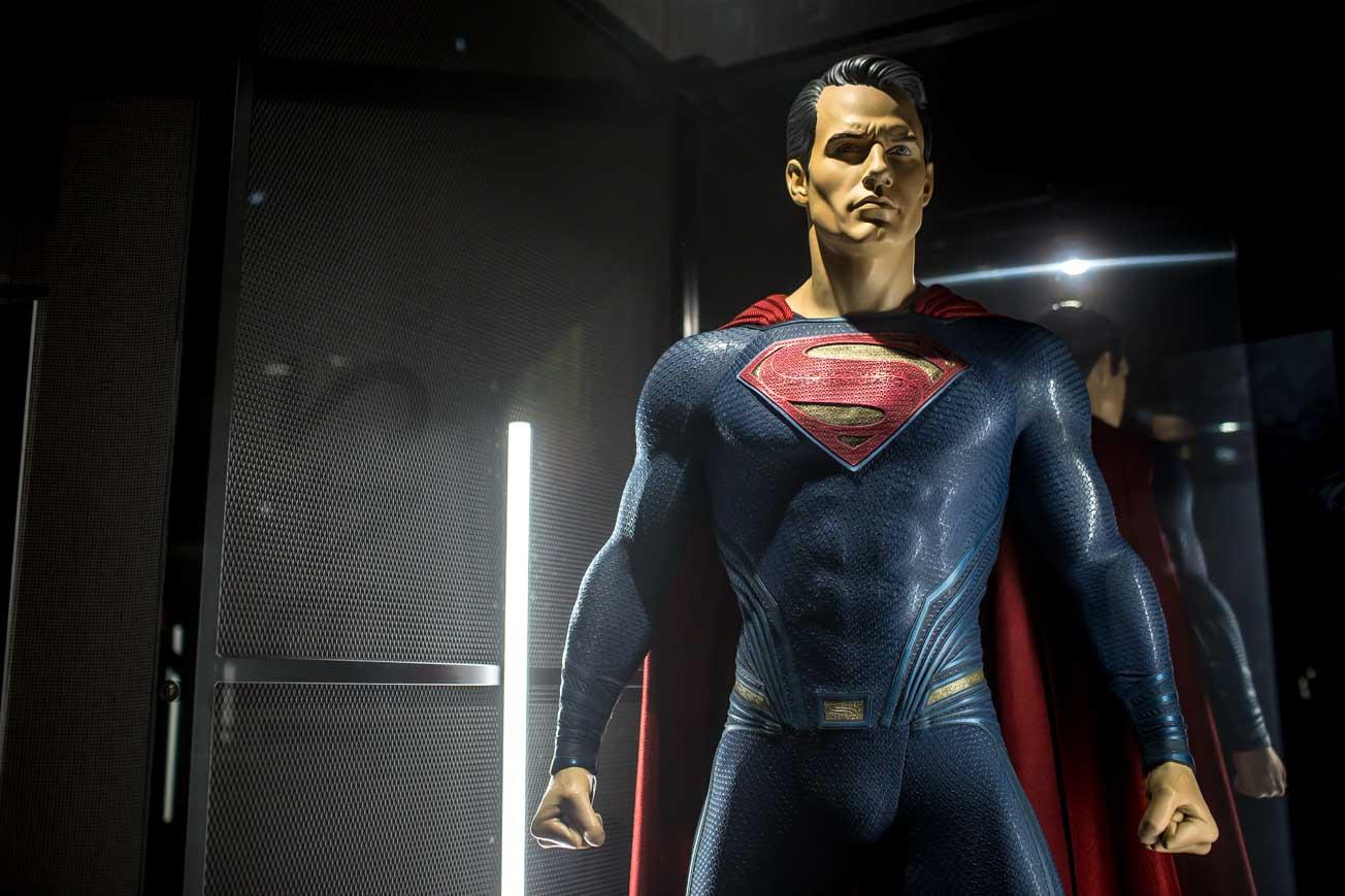 """Superman na wystawie """"Sztuka DC. Świt superbphaterów"""""""