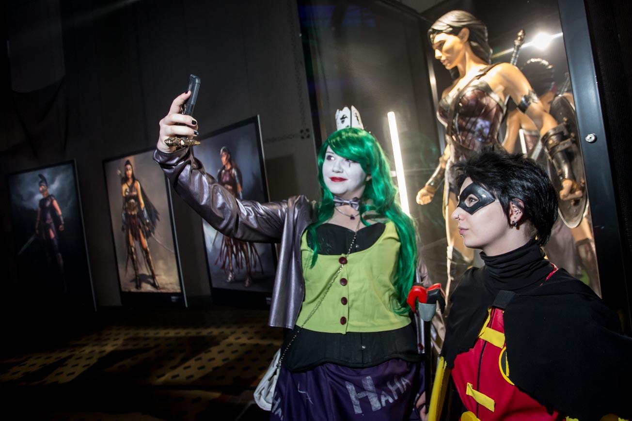 """Konkurs cosplayowy na wystawie """"Sztuka DC. Świt superbphaterów"""""""